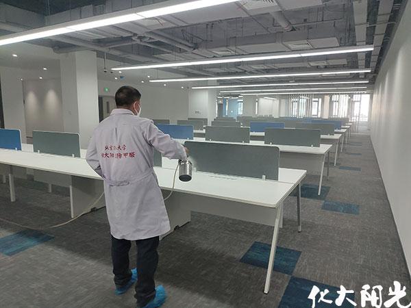 北京装修除甲醛化大阳光除甲醛公司